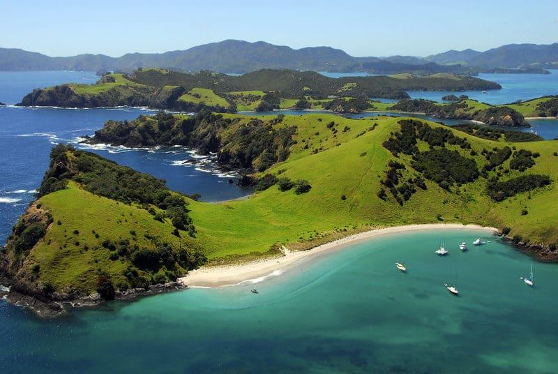 Waewaetorea Passage, Bay of Islands, New Zealand