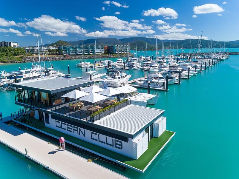 Ocean Club Floating Customer Lounge
