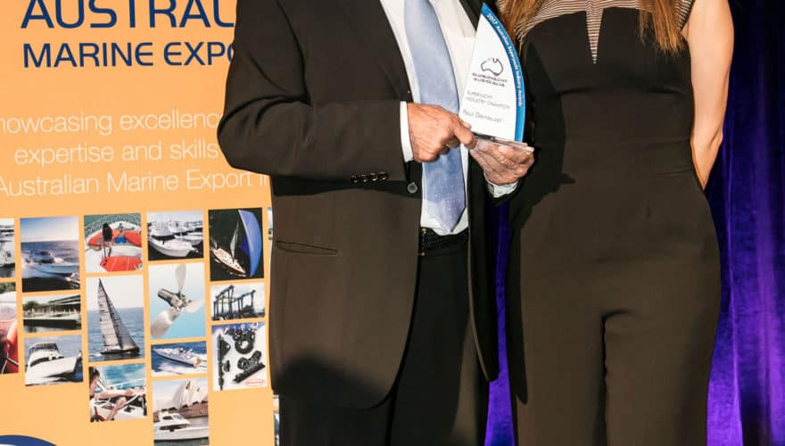 Abell Point Marina owner Superyacht Champion of the Year