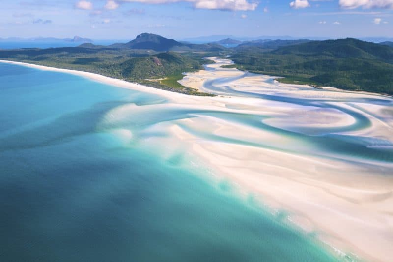 Hill Inlet Whitsundays Australia