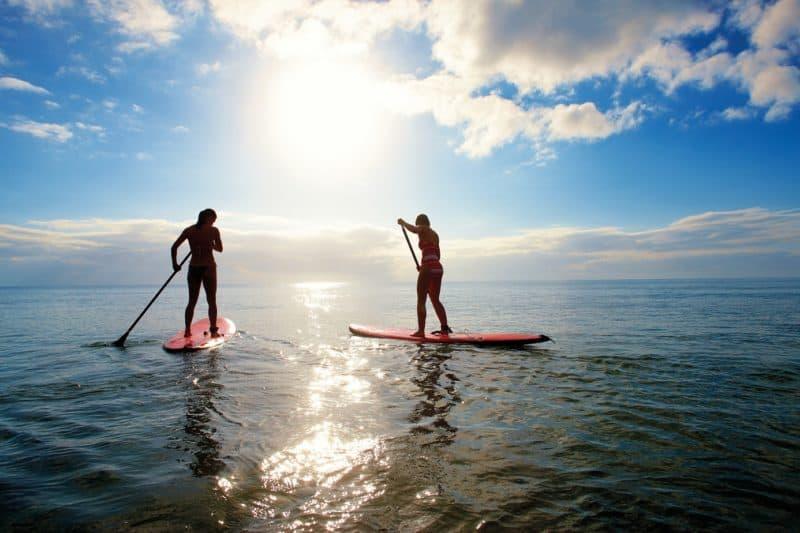 Stand up paddle boarding Whitsundays