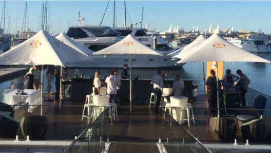 Superyacht Queensland committee in 2018 at marina