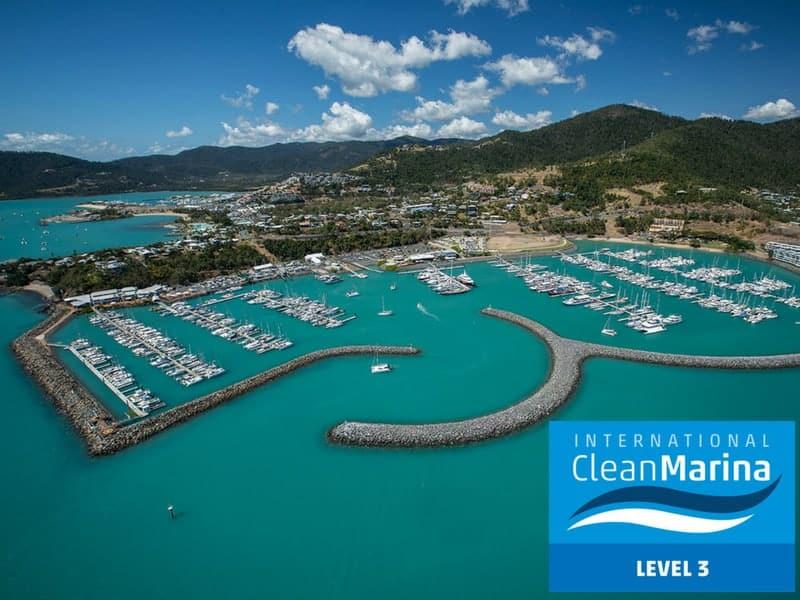 Clean Marina Level 3 logo