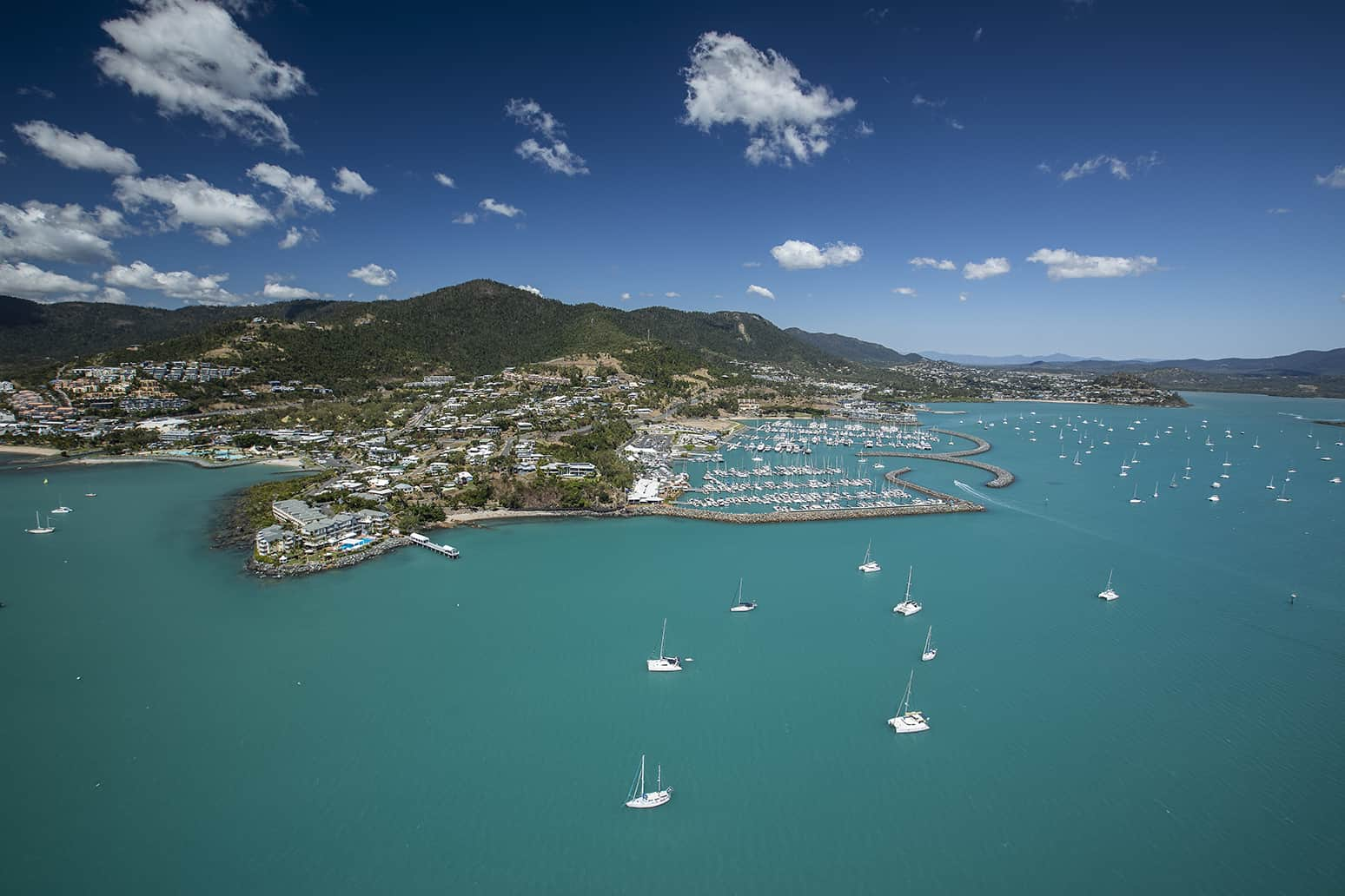 Abell Point Marina Coral Sea Aerial