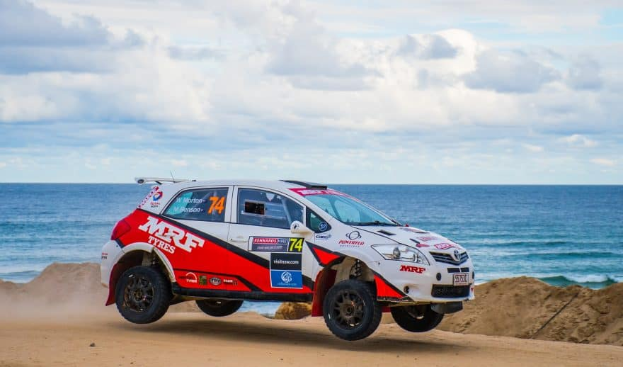 Rally Car at the Queensland Rally Championships as part of Whitsundays Festival of Motoring
