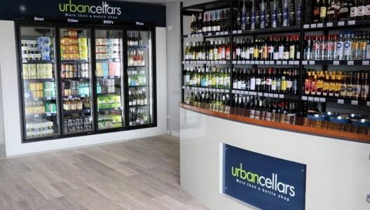 Coral Sea Cellars bottle shop in the south marina village of Coral Sea Marina