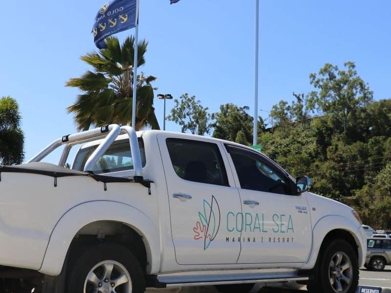 Concierge Car at Coral Sea Marina Resort