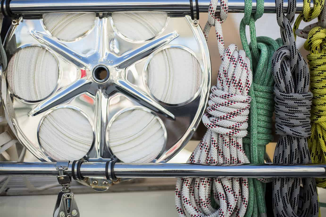 ropes and halyards