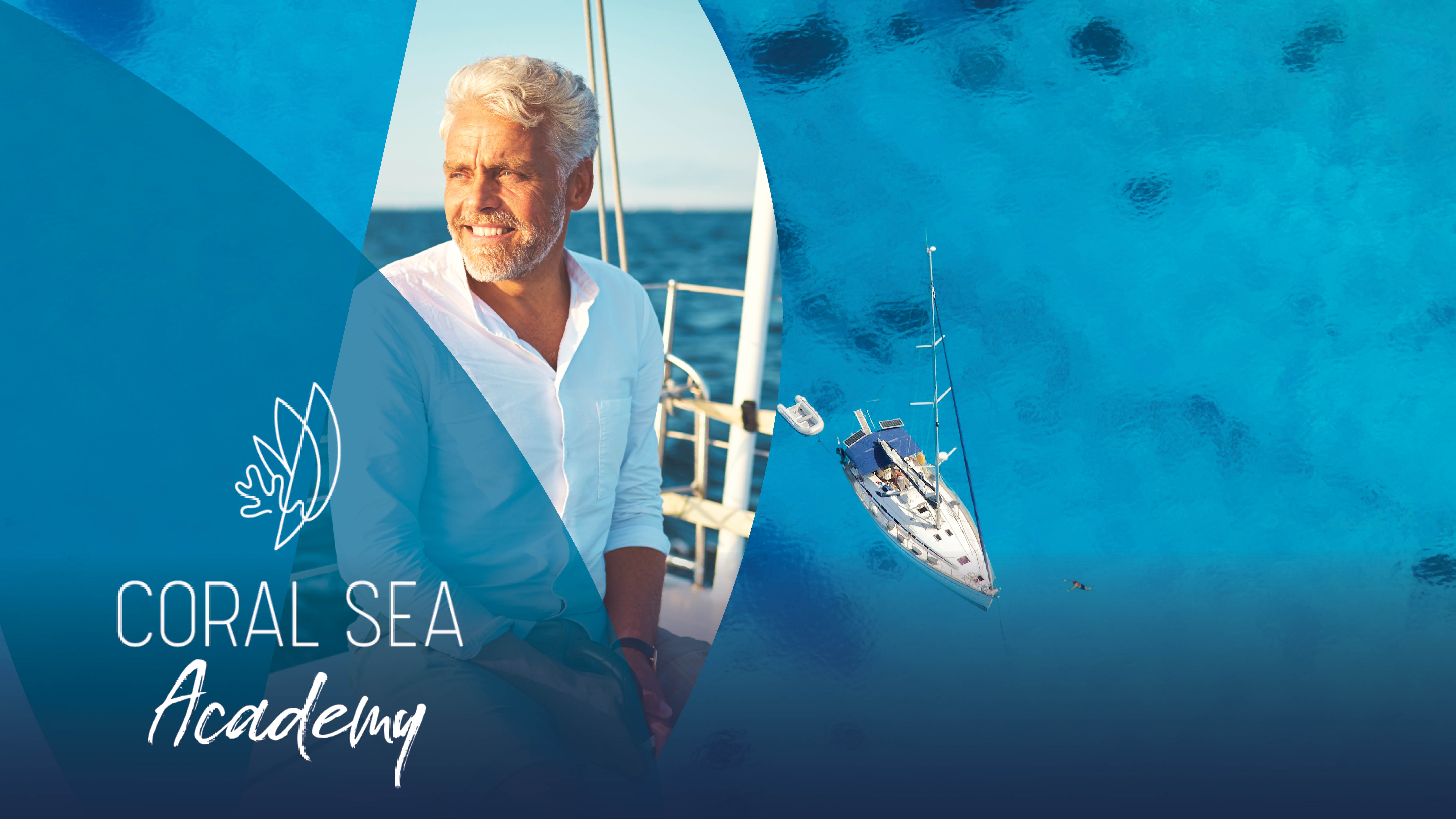 Coral Sea Academy Event promotion image Blue Mind and Boating