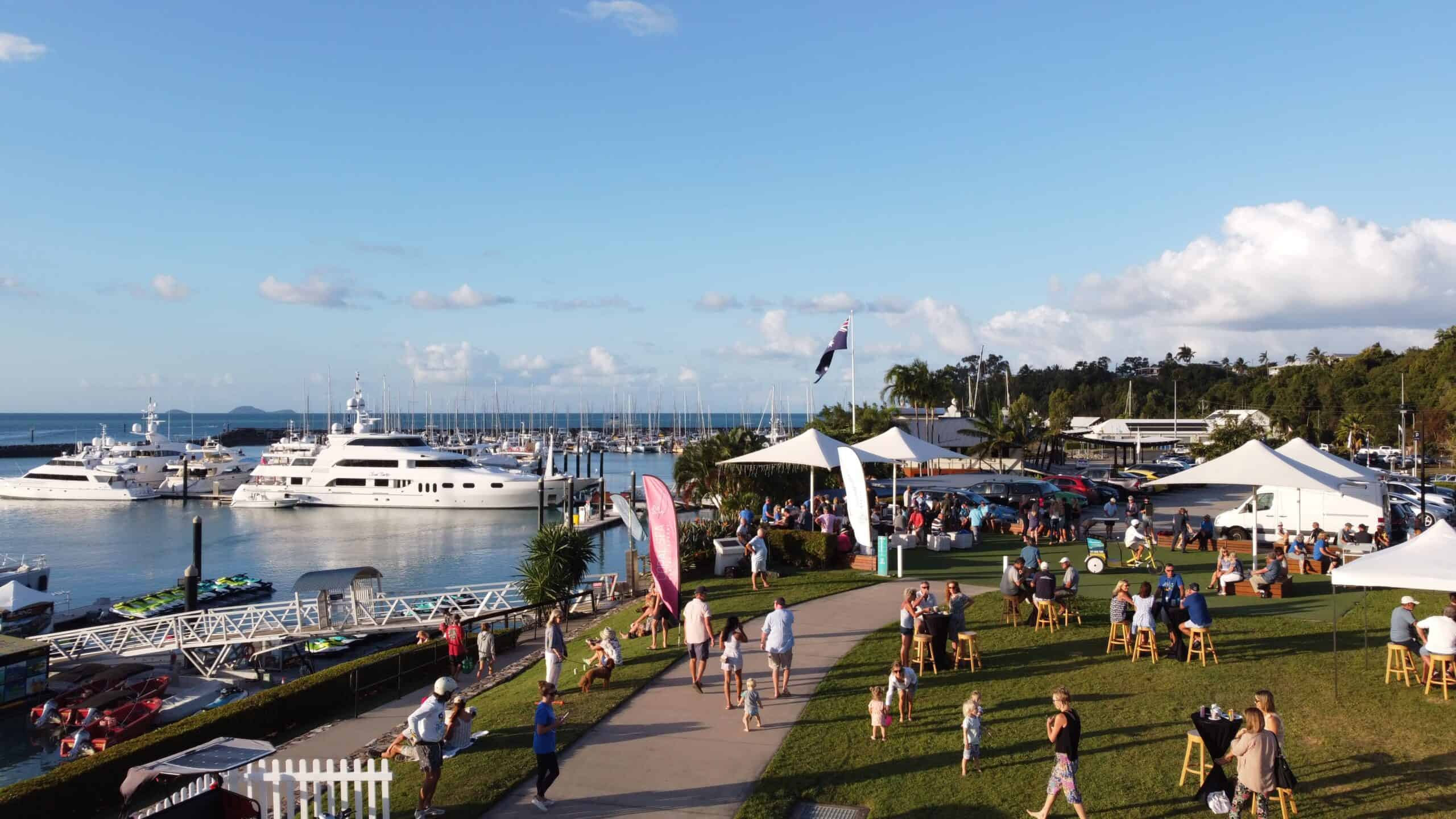 Big Aussie BBQ Fundraiser in support of Prostate Cancer Foundation of Australia at Coral Sea Marina